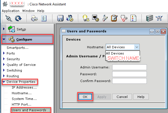 Cisco Username Password 1
